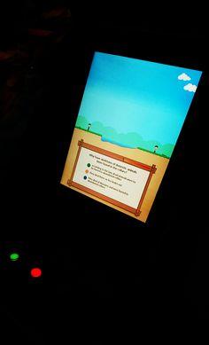 Borne jeu vidéo pédagogique - Aboa Vetus & Ars Nova Museum of Turku
