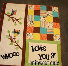 Midwest Chic: Christmas, Cards and a Quilt