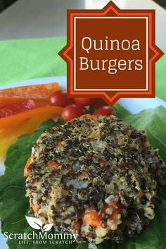 Quinoa Burger Recipe {Vegan} #NOWWellness