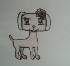 Rose the dog by Saxie3toes.deviantart.com on @DeviantArt