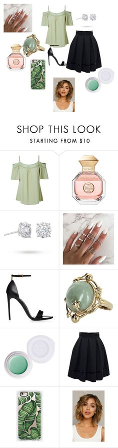 """""""work it/ date night"""" by katstacy on Polyvore featuring LE3NO, Tory Burch, Masquerade, Vintage, Shiseido, Tamara Mellon, Casetify, Fantasia and Sexy"""