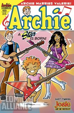 I had no idea!  Archie Is Having a Baby with Valerie From 'Josie and the Pussycats' [Exclusive] - ComicsAlliance   Comic book culture, news, humor, commentary, and reviews