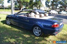 BMW 325Ci convertible #bmw #325ciconvertible #forsale #australia