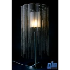 Glo Lighting | Willowlamp SCA-WIL-400(LRG)-TBL Scalloped Willow 400 Table Lamp (Multiple Colours/Finishes)