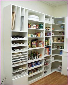 Image result for understair storage shelves