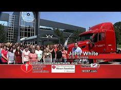 American Heart Association Heart Walk 2011 - YouTube