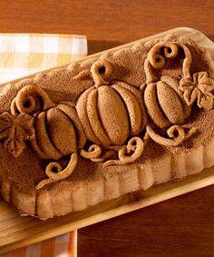 Look what I found on #zulily! Pumpkin Loaf Pan #zulilyfinds