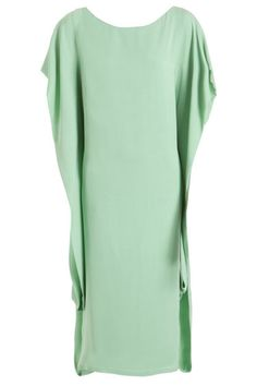 mint dress by the row.