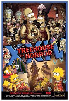 Póster del capítulo de Los Simpsons que dirigirá Guillermo del Toro