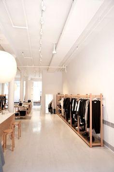 La Garçonne Shop in Tribeca, Designed by Solveig Fernlund, Photograph by Michael Muller