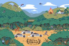 Hunt for the Wilderpeople on Behance