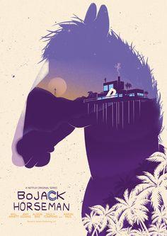 BoJack Horseman, an American Adult Animated Comedy-Drama Series, Diane Nguyen, Princess Carolyn 12 X 18 inch Poster Will Arnett, Wall Art Prints, Poster Prints, Netflix Tv Shows, Bojack Horseman, Silk Art, Fan Art, Wall Stickers Home Decor, Film Serie