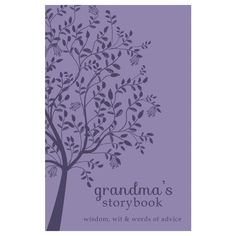 Cookies, cross-stitching, and . . . cliff diving? Maybe it's time to learn about Grandma's life before you arrived on the scene! Now is your chance to have her record all her hopes, humor, and (of course) her life stories for future generations to...