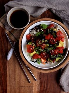 Watermelon Tuna Poke