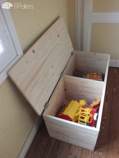 Caisses De Rangement / Pallet Storage Boxes Pallet Boxes & Chests