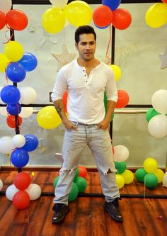 Varun Dhawan promoting 'ABCD 2'. #Bollywood #Fashion #Style #Handsome