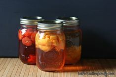 How to make fruit flavored vinegar using berries or soft fleshed fruit like strawberries, peaches & cherries. Perfect for foodie Christmas gifts.