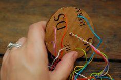 a case of the mundays: mon-DIY: woven frienship bracelet THE COOLEST WAY TO MAKE A BRACELET!!!