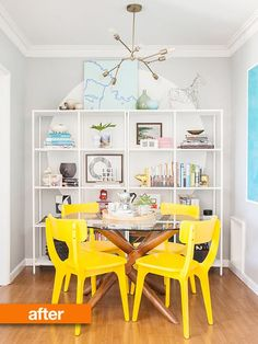 Before & After: Dining Room Gets a Do-Over   Apartment Therapy