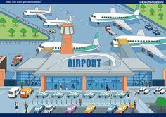 Praatplaat vliegveld