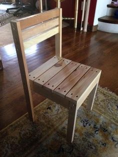 kid stackable chair | Do It Yourself Home Projects from Ana White
