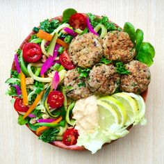Quinoa-pumpkin falafel - need to try this!