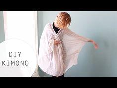 ▶ DIY: Kimono Tutorial Using a Scarf - YouTube