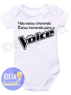 Body Infantil - Treinando para o The Voice Creative T Shirt Design, Sad Girl, The Voice, Kids Outfits, Shirt Designs, Maternity, Shirts, Clothes, Memes
