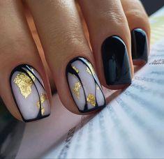 Simple Nail Art Designs, Nail Designs, Cute Nails, Pretty Nails, Hair And Nails, My Nails, Short Square Nails, Short Nails, Manicure E Pedicure