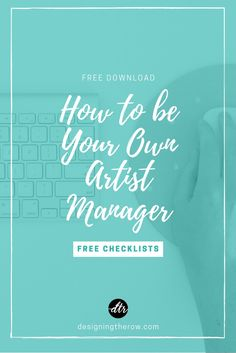 How To Be Your Own Tour Manager — Designing the Row Artist Management, Management Tips, Management Company, Online Marketing, Digital Marketing, Nashville Music, Tour Manager, Indie Music, Soul Music