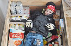 Lochlan Murray is only four years old but decided he wanted to help people who may be hungry. He came up with Lochlan's Hungry Tummies food drive. Food Drive, Four Year Old, Helping People, Eating Habits