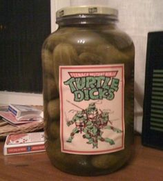 Turtle Dicks - Should put one of Court's pickles
