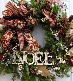 Achat en ligne de couronnes de Noël | Sapinière Downey