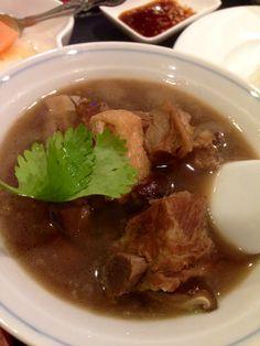 肉骨茶 バクテー @ペナンレストラン うまいぜ! マレーシアでは毎日食った。
