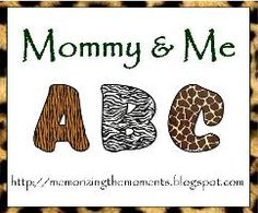 Memorizing the Moments: Mommy and Me ABCs - FABULOUS introduction to letter recognition/exposure! Letter N Activities, Preschool Letters, Toddler Learning, Early Learning, Toddler Activities, Toddler Fun, Preschool Education, Preschool Themes, Early Education