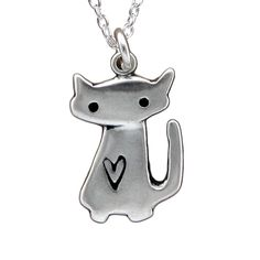Sterling Silver Little Space Cat Necklace * Check out the image by visiting the link. (This is an affiliate link and I receive a commission for the sales) Pocket Cat, Glass Store, Cat Cages, Cat Activity, Silver Cat, Cat Fleas, Cat Memorial, Necklace Box, Earrings