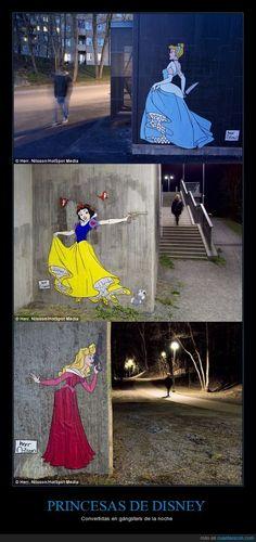 PRINCESAS DE DISNEY - Convertidas en gángsters de la noche - http://www.funnyclone.com/princesas-de-disney-convertidas-en-gangsters-de-la-noche/