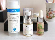 Updated Skincare Tray: REN, S5 and Nourish.