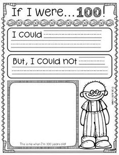FREE 100th Day of School Printables and Ideas