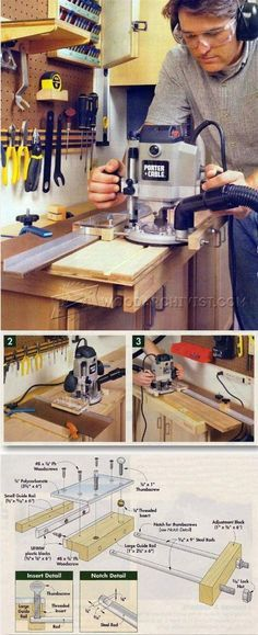 DIY Router Guide - Router Tips, Jigs and Fixtures | WoodArchivist.com