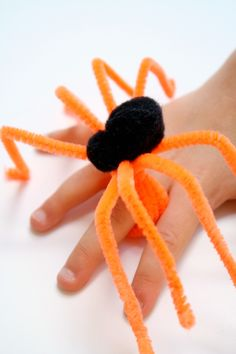 DIY spider ring craft