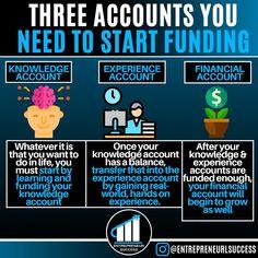 Entrepreneur Motivation, Motivation Success, Business Motivation, Business Tips, Financial Quotes, Financial Literacy, Financial Tips, Management Development, Career Development