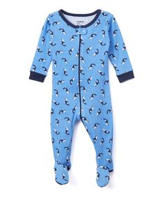 Love this Leveret Blue Killer Whale Footie - Infant, Toddler & Kids by Leveret on #zulily! #zulilyfinds