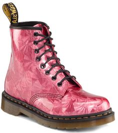NEW Dr. Doc Martens PINK RUBY JEWEL 1460 Boots UK 9 US 11  R10072608