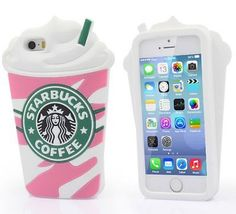 3D Starbucks frappuccino phone coque silicone Apple samsung iPhone 4 s 5 5S 5C 6