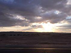 On the israeli desert