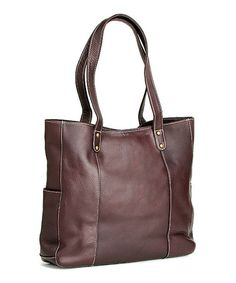 Loving this Café Double-Strap River Tote on #zulily! #zulilyfinds