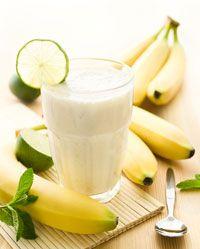Smoothies op basis van kwark zijn uitstekende eiwitrijke snacks