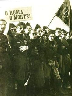 "Italian Fascist ""Blackshirts"" prepare to march on Rome, October, 1922"
