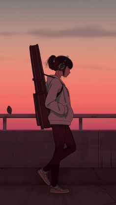 Anime Angel Girl, Cool Anime Girl, Beautiful Anime Girl, Anime Art Girl, Sky Anime, Anime Galaxy, Anime Cover Photo, Anime Songs, Digital Art Girl